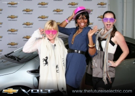 Chevy Volt & Fashion Geeks, Ashley Gufstason, Angelica Benjamin, and JennieB!